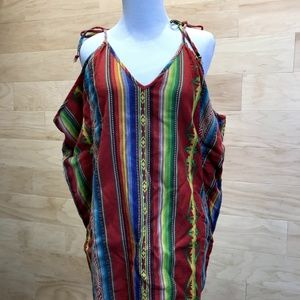 Ralph Lauren stripped colorful dress